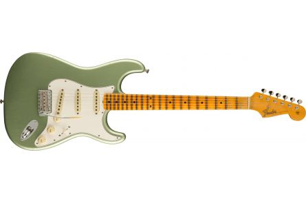 Fender Postmodern Stratocaster Journeyman Relic with Closet Classic Hardware MN Faded Aged Sage Green Metallic