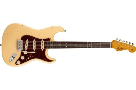 Fender Postmodern Stratocaster Journeyman Relic with Closet Classic Hardware RW - Aged Vintage White