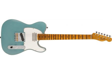 Fender Postmodern Telecaster Journeyman Relic with Closet Classic Hardware MN Aged Firemist Silver