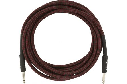 Fender Professional Series Instrument Cable - 15' - Red Tweed