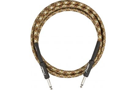Fender Professional Series Instrument Cable - Straight/Straight - 10' - Desert Camo