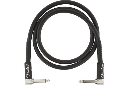 Fender Professional Series Instrument Cables - Angle/Angle - 3' - Black