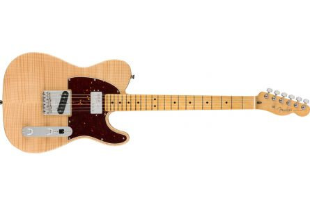 Fender Rarities Chambered Telecaster Flame Maple Top MN - Natural