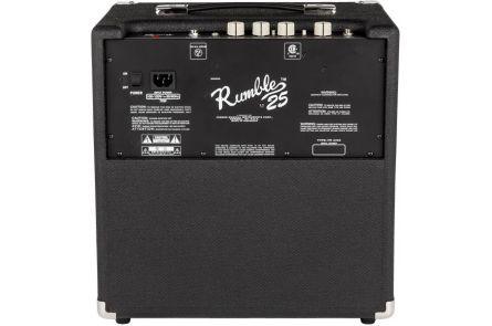 Fender Rumble 25 (V3) - Black/Silver