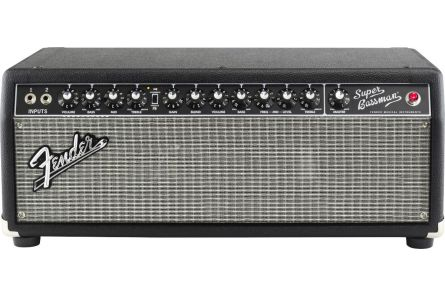 Fender Super Bassman Head - Black