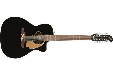 Fender Villager 12-String - Walnut Fingerboard - Black V3