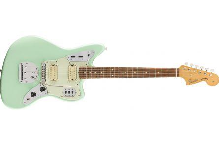 Fender Vintera '60s Jaguar Modified HH - Pau Ferro Fingerboard - Surf Green