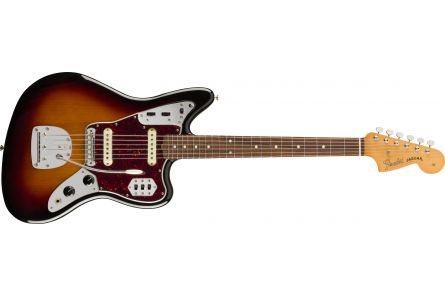 Fender Vintera '60s Jaguar - Pau Ferro Fingerboard - 3-Color Sunburst
