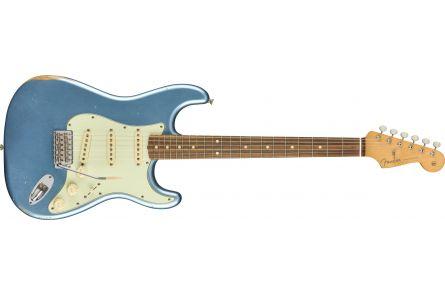 Fender Vintera Road Worn '60s Stratocaster - Pau Ferro Fingerboard - Lake Placid Blue