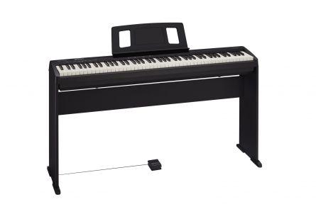 Roland FP-10 BK Piano Bundle incl.  KSCFP10-BK Keyboard Stand