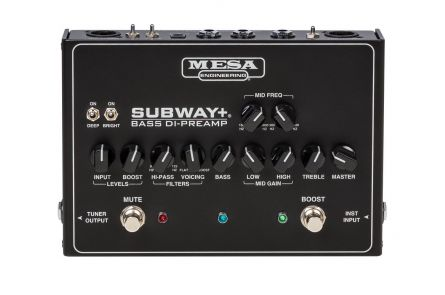 Mesa Boogie Subway Plus Bass DI-Preamp