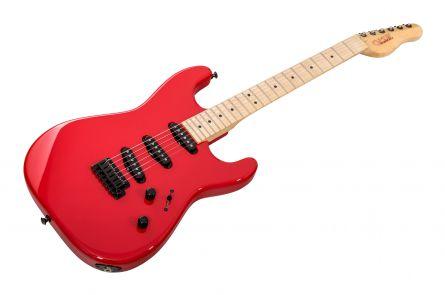 GMW Guitarworks CS Strat SSS - Ferrari Red MN