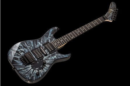 GMW Guitarworks CS Dinky HSH FR - Shattered Glass