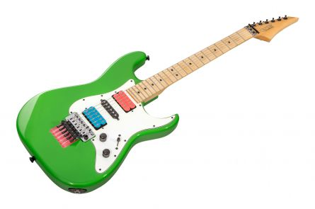 GMW Guitarworks USA CS Strat HSH FR - Green Meanie