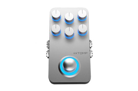 Hotone Xtomp - Bluetooth Multieffects Pedal - b-stock (1x opened box)