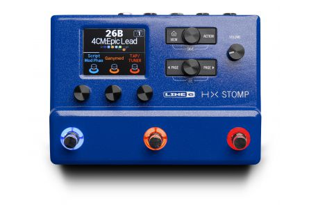 Line 6 HX Stomp Blue Limited Edition