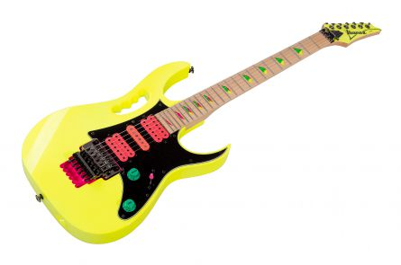 Ibanez JEM777 DY - Desert Sun Yellow - 30th Anniversary Edition Steve Vai Signature