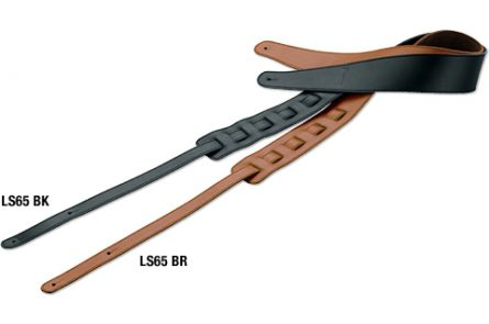 Ibanez LS65-BR Guitar Strap Leather - Brown