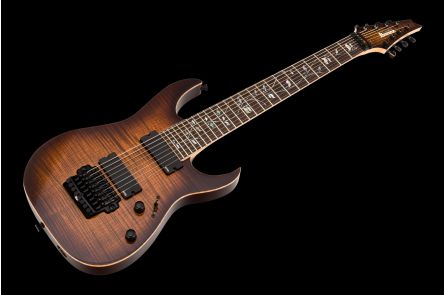 Ibanez RG20138 BGA J-Custom - Brown Garnet - 8-String Limited Edition