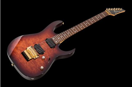 Ibanez RG620QM ABS - Antique Brown Sunburst
