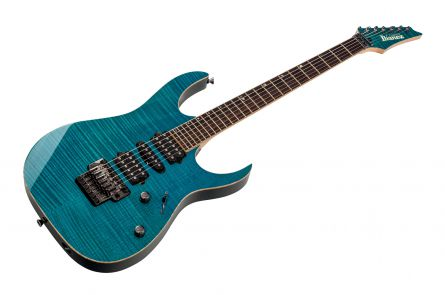 Ibanez RG8570 J-Custom TT - Transparent Turquoise