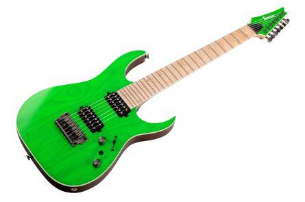 Ibanez RGR5227MFX TFG Prestige - Transparent Fluorescent Green