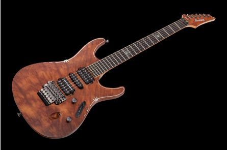 Ibanez S2009SC Showcase High Class J-Custom Limited Edition - Camphor Burl G09001