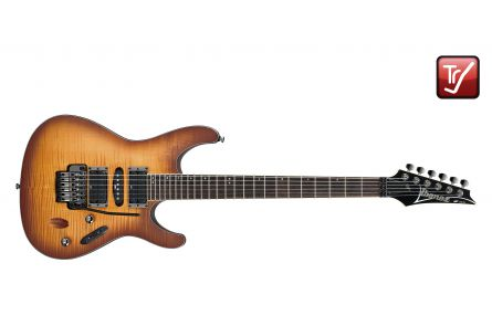 Ibanez S870FM ATF - Antique Burst Flat - 2014 Version