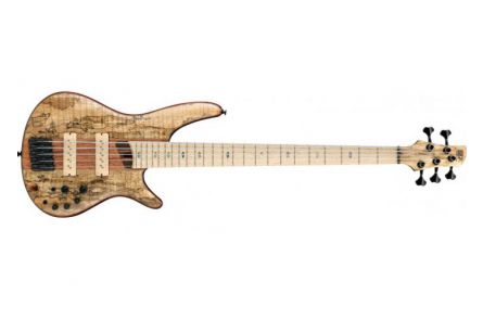 Ibanez SR5SMLTD NTF Premium - Spalted Maple Natural Flat - Limited Edition