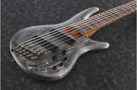 Ibanez SRFF806 BKS Bass Workshop - Black Stained