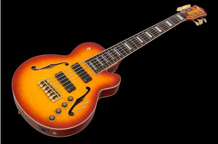 Ibanez TCB1006 ALM - Autumn Leaf Burst Matte - Stephen 'Thundercat' Bruner Signature Bass