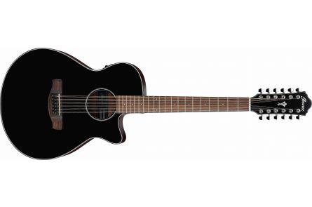 Ibanez AEG5012 BKH - Black High Gloss