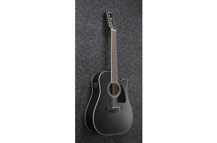 Ibanez AW8412CE WK - Weathered Black