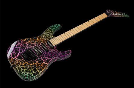 Jackson Pro Series Soloist SL3M MN Rainbow Crackle