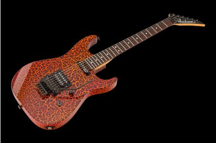 Jackson USA Dinky Custom Shop - Fire Crackle Graphics