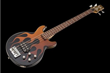 Jackson USA JJ Bass - Interference Flames