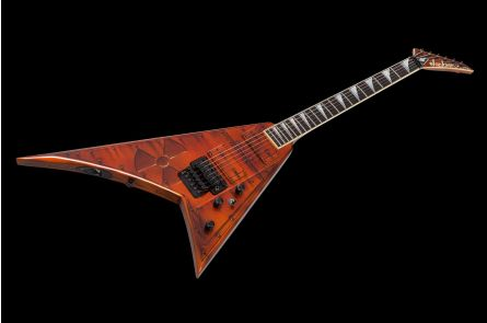 Jackson USA Custom Shop RR ML Randy Rhoads - Nuclear Waste Graphics (Mike Learn)