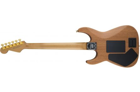 Jackson USA Signature Phil Collen PC1 Satin Stain - Caramelized Flame Maple Fingerboard - Satin Transparent Blue