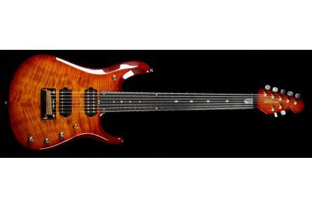 Music Man USA John Petrucci JP7 BFR KB - Koa Island Burst