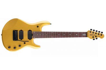 Music Man USA John Petrucci JP7 Piezo FMG - Firemist Gold MH