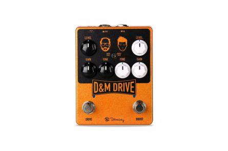 Keeley D&M Drive - Daniel Steinhardt & Mick Taylor (That Pedal Show) Signature Overdrive / Boost