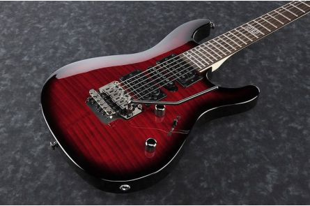 Ibanez KIKOSP2 TRB Kiko Loureiro Signature - Transparent Red Burst