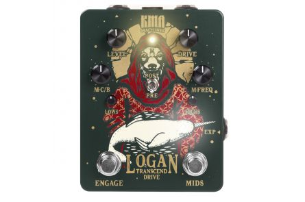 KMA Audio Machines Logan Overdrive - 1x opened box