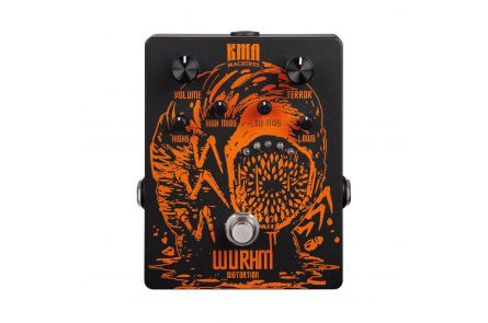 KMA Audio Machines Wurhm - Limited Edition HM Wurm Distortion Pedal incl. T-Shirt