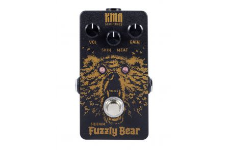 KMA Audio Machines Fuzzly Bear Silicium Fuzz