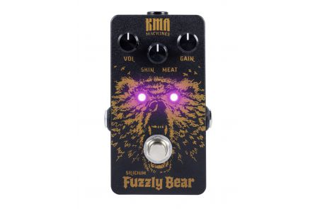 KMA Audio Machines Fuzzly Bear Silicium Fuzz - 1x opened box
