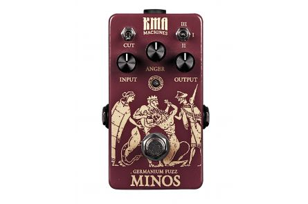 KMA Audio Machines Minos Germanium Fuzz - 1x opened box
