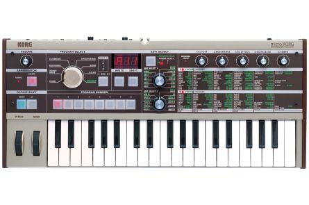 Korg microKORG, Synthesizer with Vocoder, 37 Keys