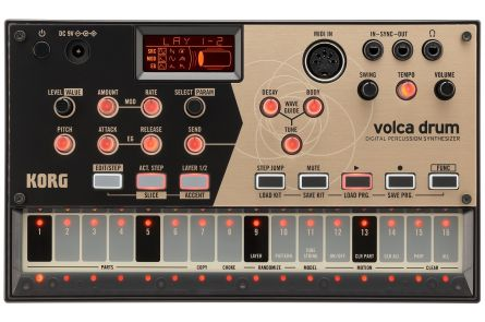 Korg Volca Drum - Physical Modelling Drummachine