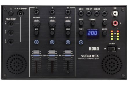 Korg Mixer Volca Mix, 4 Kanäle with Effects for the Volca Series